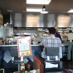 Diners can see the Chefs working