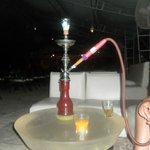 Sheesha at night in the hotel