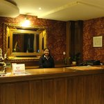 The Smiling Receptionist