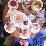 Porridge und Scones