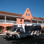 hotel shuttle bus service included