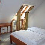 вторая спальня в мансарде