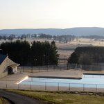 The Lodges Large Outdoor Swimming Pool and Valley
