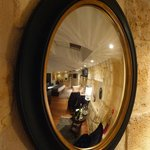 Mirror View of our room (Stephen Girard)
