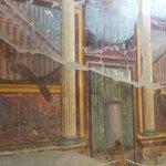 Wall paintings at Oplontis