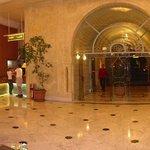 welcoming foyer
