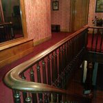 Upstairs banister