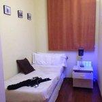 1 of 2 smaller bedrooms