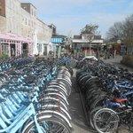 start punt fiets tour