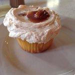 Praline cupcake!
