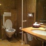 bathroom in room 107