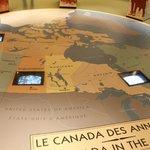 La carte du Canada à la veille de l'entrée en guerre