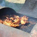 Chicken on the barbi