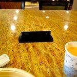 Ladestation am Tisch