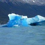 navegando en el brazo Upsala del lago argentino