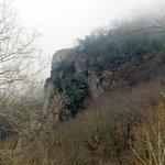 View of Seneca Rocks from Below