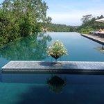het prachtige zwembad