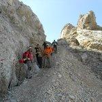 escursione in  Marmolada