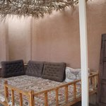 Pequeña zona exterior chill out
