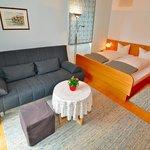 Kleines Appartement, Zimmer