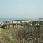 Beach access, just 100 feet away.