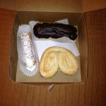 Eclair, Cannoli, and the best Angel cookie ever!!