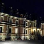 Château vu de nuit