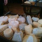 le plateau de fromages affinés