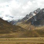 Snow Capped Mountains, La Raya