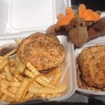 Our favorite-Beef on Weck with fries!