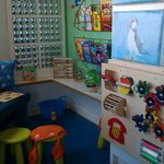 One of the kids areas