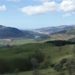 Snowdonia National Park from the top of the local Precipice Walk .. well worth the climb