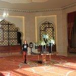 The lobby/reception of Al Bandar Resort