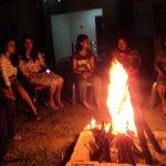 our bon fire