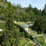 vue sur la Villa Carlotta