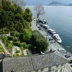 vue sur le lac et la Villa Carlotta