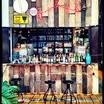 Restauraunt/bar during the day