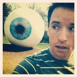 Massive eye ball!