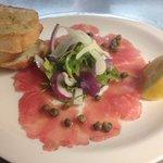Tuna Carpaccio Special