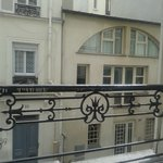Room view overlooking Rue Audran 2