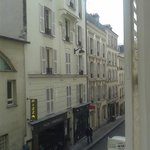 Room view overlooking Rue Audran 3