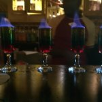 Flaming shots at Cricketers