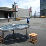 Outside Exploratorium Exhibition