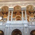 A giant foyer , beautiful !