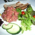 Steak tartare - fabulous!