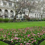 A few minutes down Northumberland Ave: Gardens at Embankment