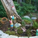 Sea Cliff Garden gnomes