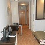 Studio apartment, first floor.