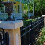 Beautiful ironwork fence
