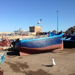 the docksie in Essouira